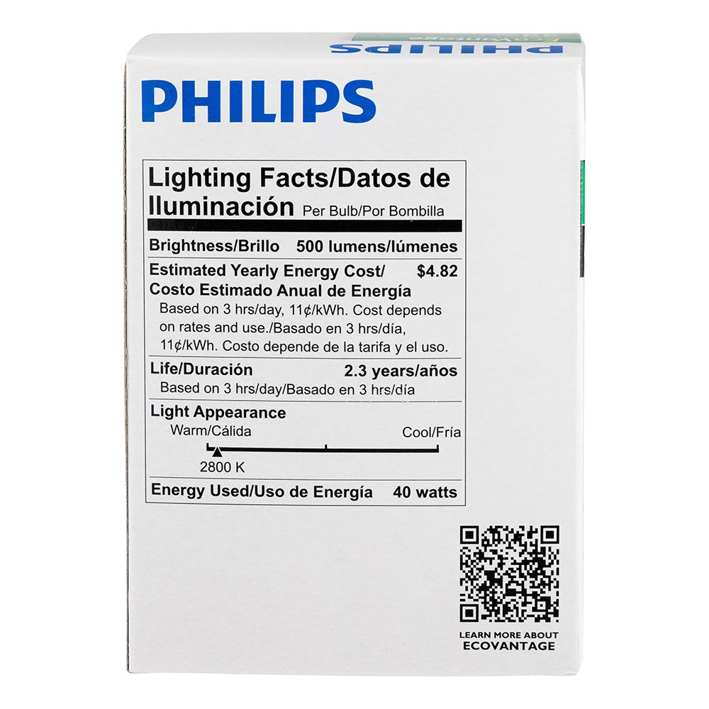 Philips 420851 40-watt G25 Halogen Decorative Globe Light Bulb, White - Incandescent Bulbs - Amazon.com
