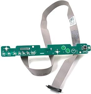 Dell Optiplex 960 SMT Power Button Assembly (G643F X524D)