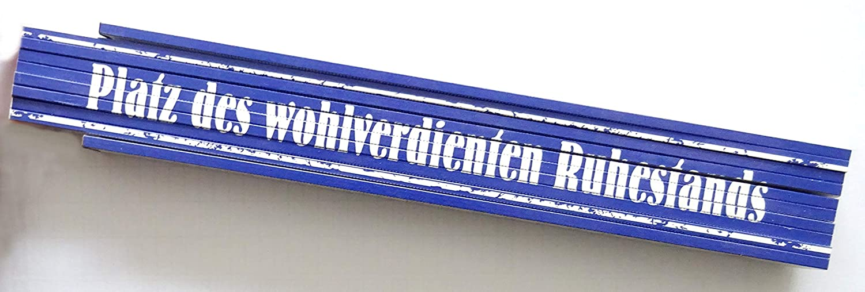 Zollstock Gliederstab Meterstab 2m Platz des wohlverdienten Ruhestands