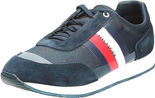 Tommy Hilfiger FM0FM02379 Sneakers con Lacci in CAMOSCIO E