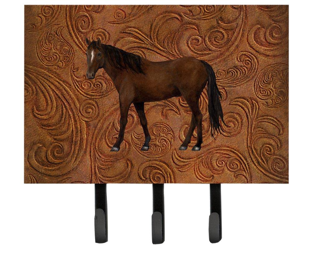 Carolines Treasures SB3066TH68 Horse Leash or Key Holder Large Multicolor