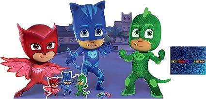 BundleZ-4-FanZ Fan Packs PJ Masks Group Pose con Catboy ...