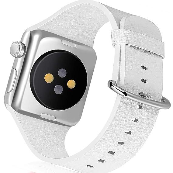 Amazon.com: Daze Smartwatch Leather Silicone Wristband for ...