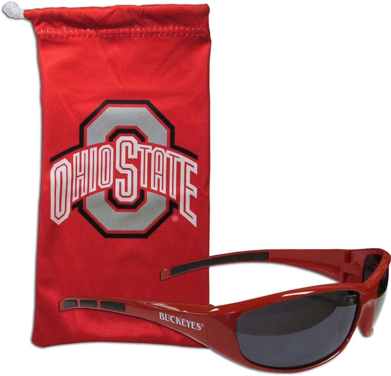 Siskiyou NCAA Ohio State Buckeyes Wrap Sunglasses