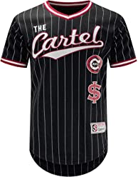 93c3590af0295b Trending Apparel New Men The Cartel Jersey PIN Stripe