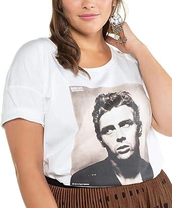 Studio Untold Oversize-Shirt James Dean Camiseta para Mujer