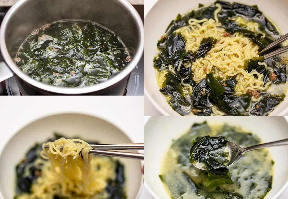 [Ottogi] Beef Seaweed Soup Ramen Noodle Soup (Pack of 5) / Korean food/Korean ramen (overseas direct shipment) by Ottogi