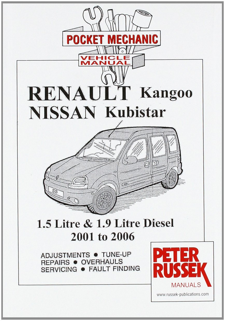 renault kangoo ii petrol models 1 2 1 4 and 1 6 litre engine 8 rh amazon co uk renault kangoo workshop manual download free renault clio workshop manual