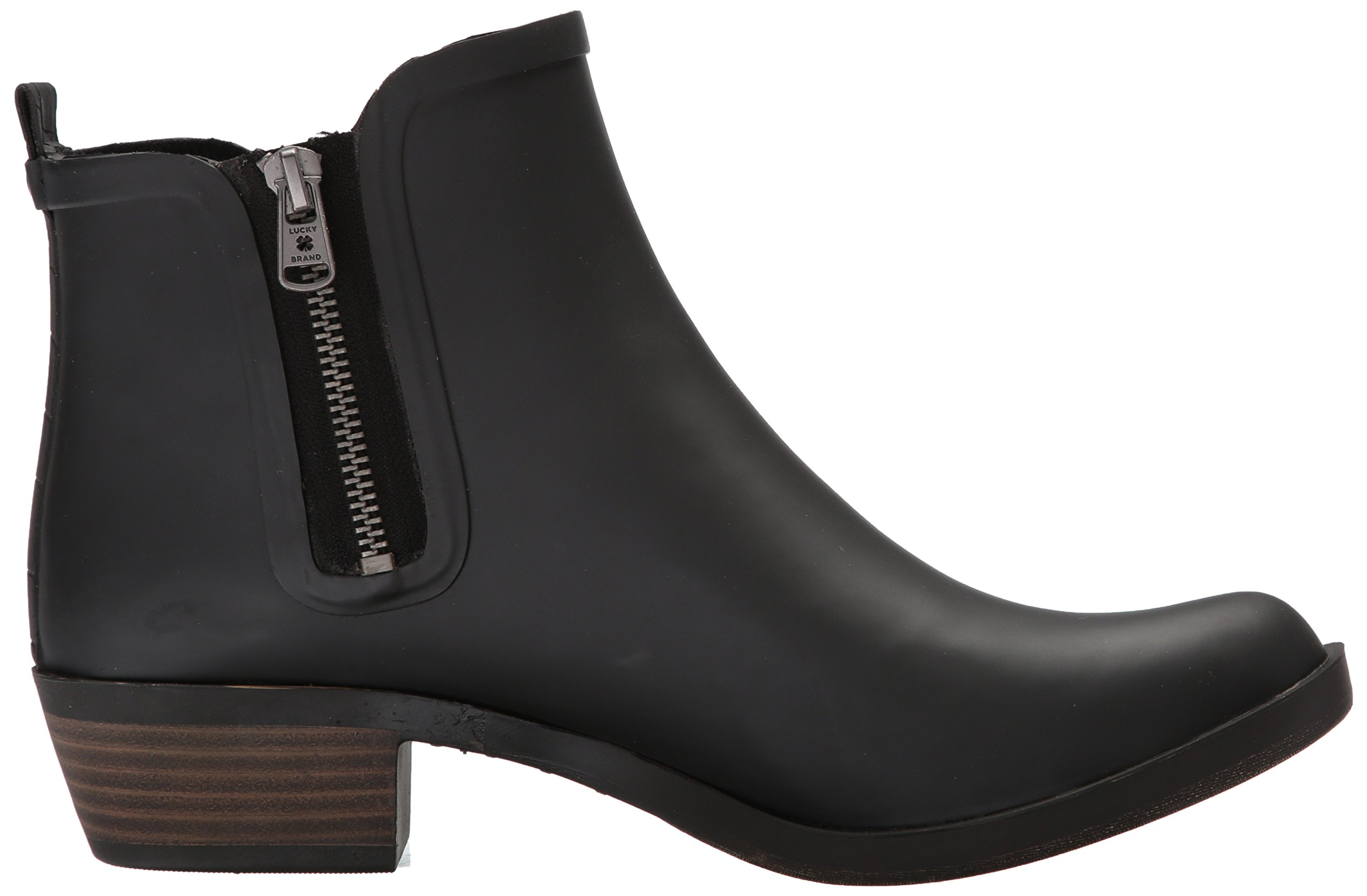 Lucky Brand Women's Baselrain Rain Boot, Black Crocodile, 10 Medium US by Lucky Brand (Image #7)