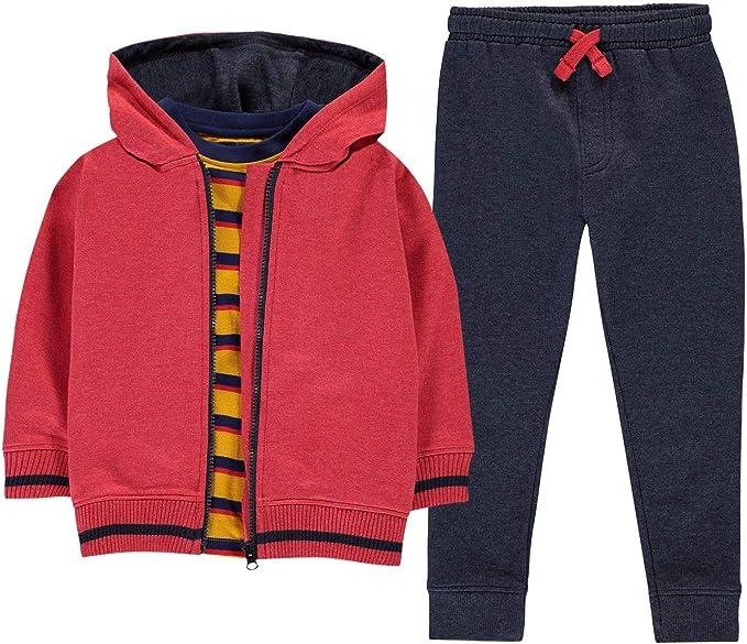 Crafted Niños Conjunto De Pantalones Deportivos, Camiseta Y ...