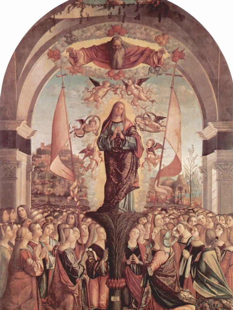 Lais Puzzle Vittore Carpaccio - Gemäldezyklus zur Legende der Hl. Ursula, Szene: Apotheose der Hl. Ursula 2000 Teile