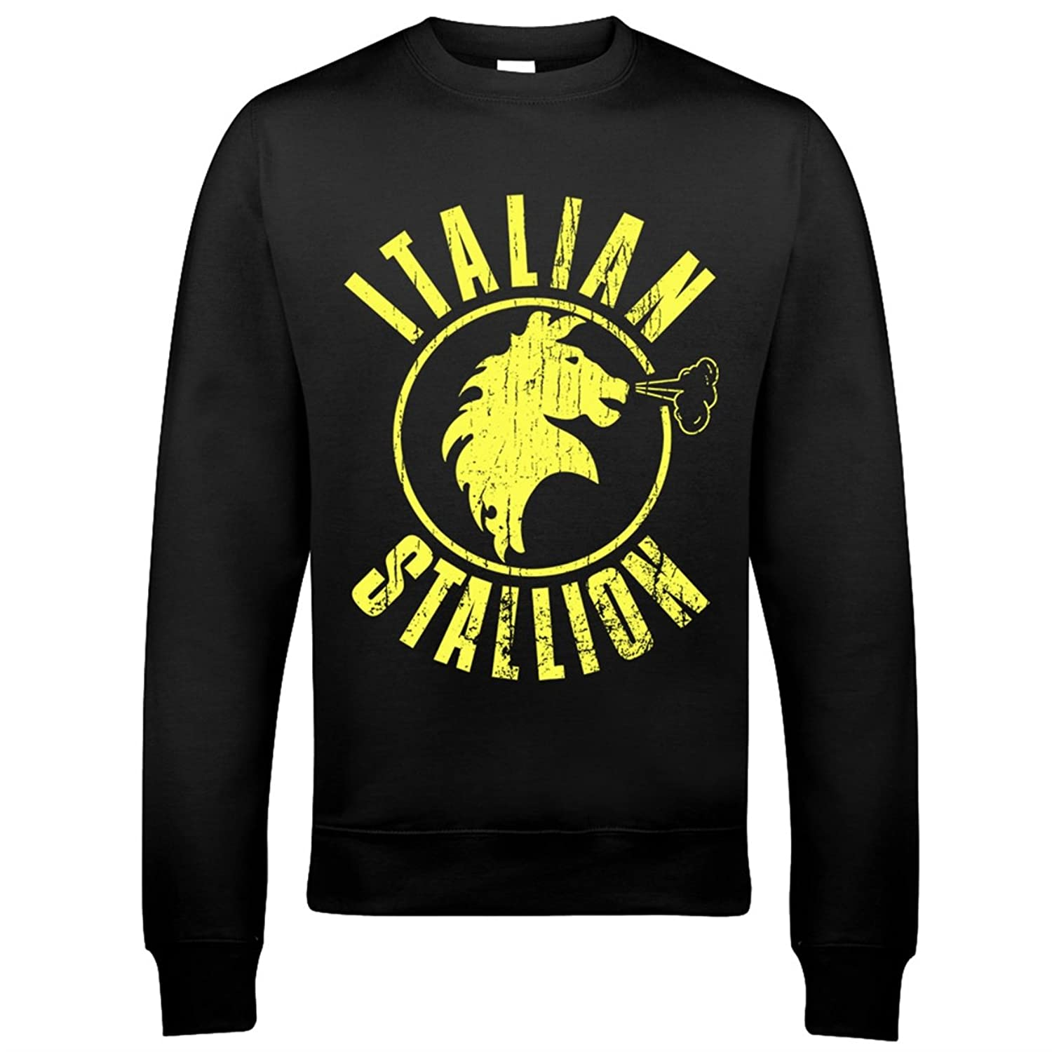 9131 Italian Stallion Mens Sweatshirt Silvester Stalone Boxing Champion Rocky Balboa Mighty Mick's Gym