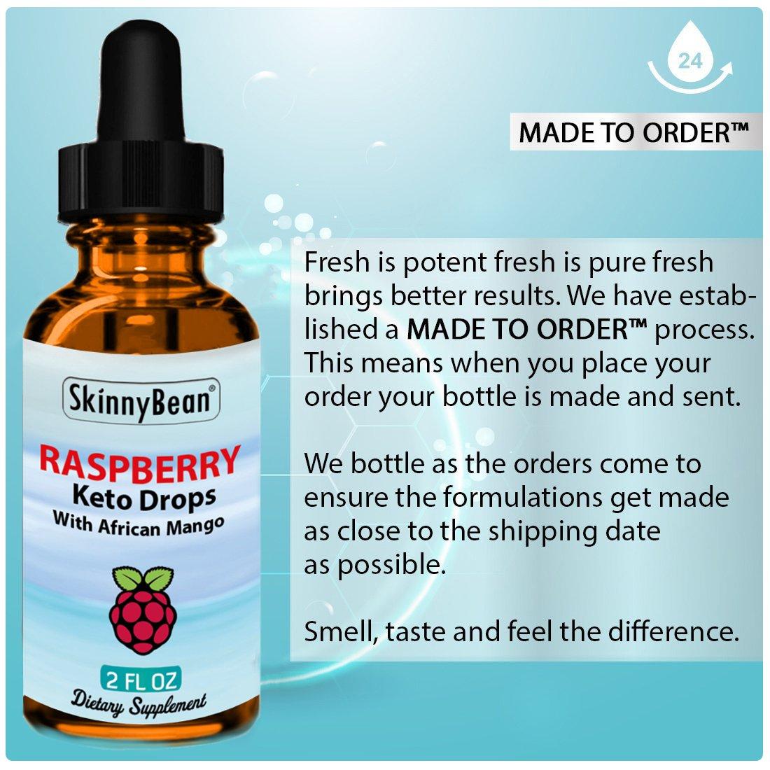 Amazon.com: Raspberry Ketone gotas | por skinnybean® con ...