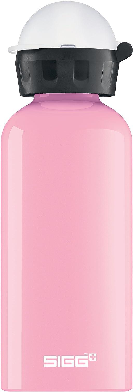 Sigg KBT - Botella para niños (0,4 L), sin sustancias nocivas, con tapa antigoteo, ligera botella de aluminio