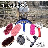 HEEPDD Kit de Cuidado equino, 10 Piezas, Cepillo