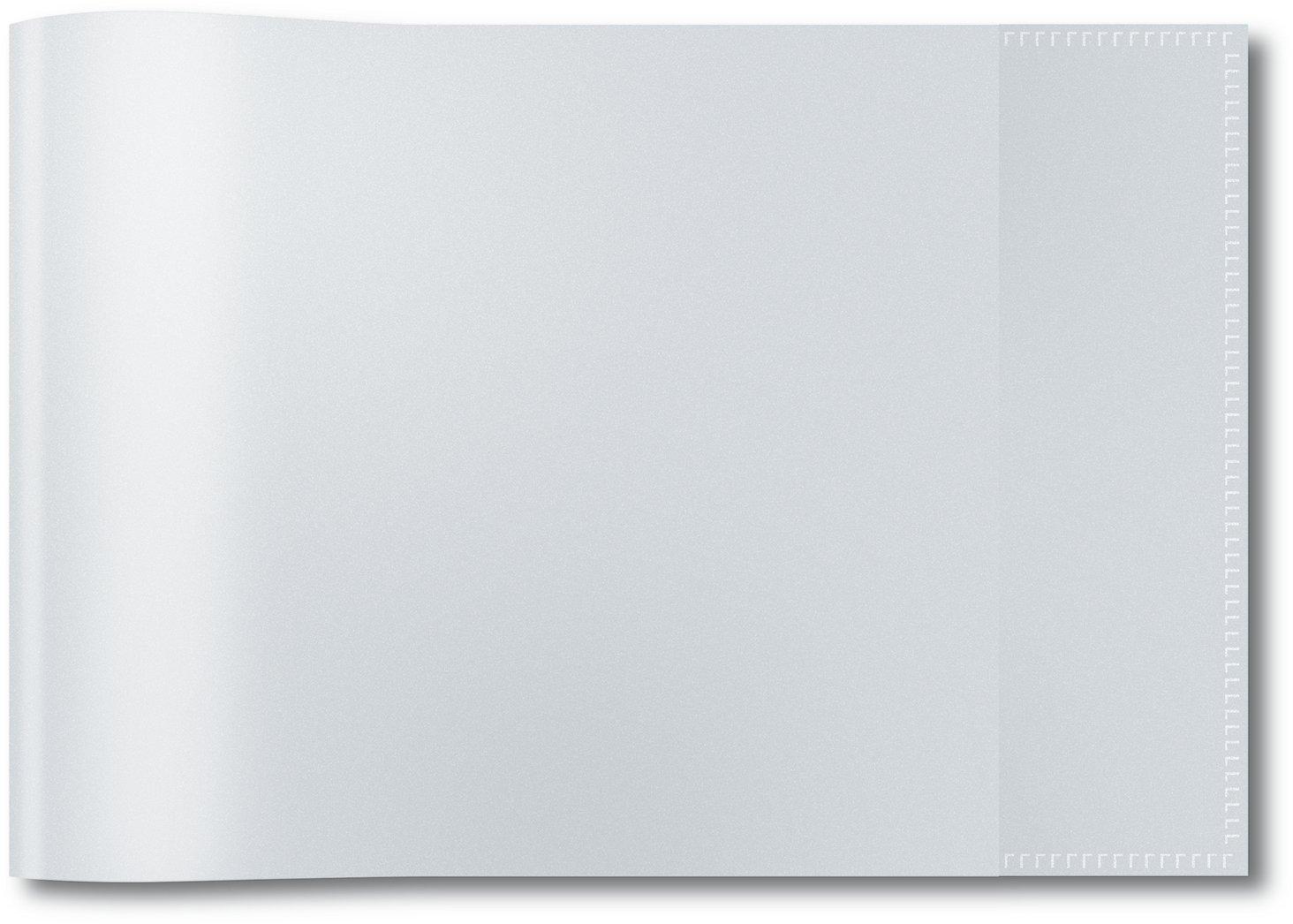 Herma 7470 Heftumschlag DIN A5 quer, Kunststoff transparent farblos, 1 Heftschoner für Schulhefte