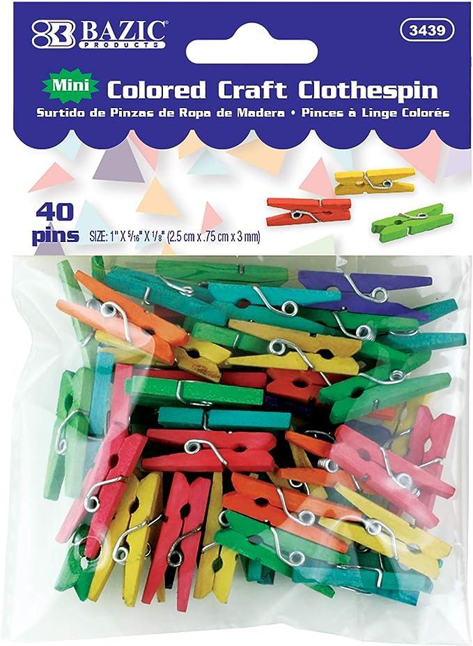 Mini Clothes Pin,Mint,Aqua,Blue Clothespin,Colored Clothespin 10 Mini clothespin