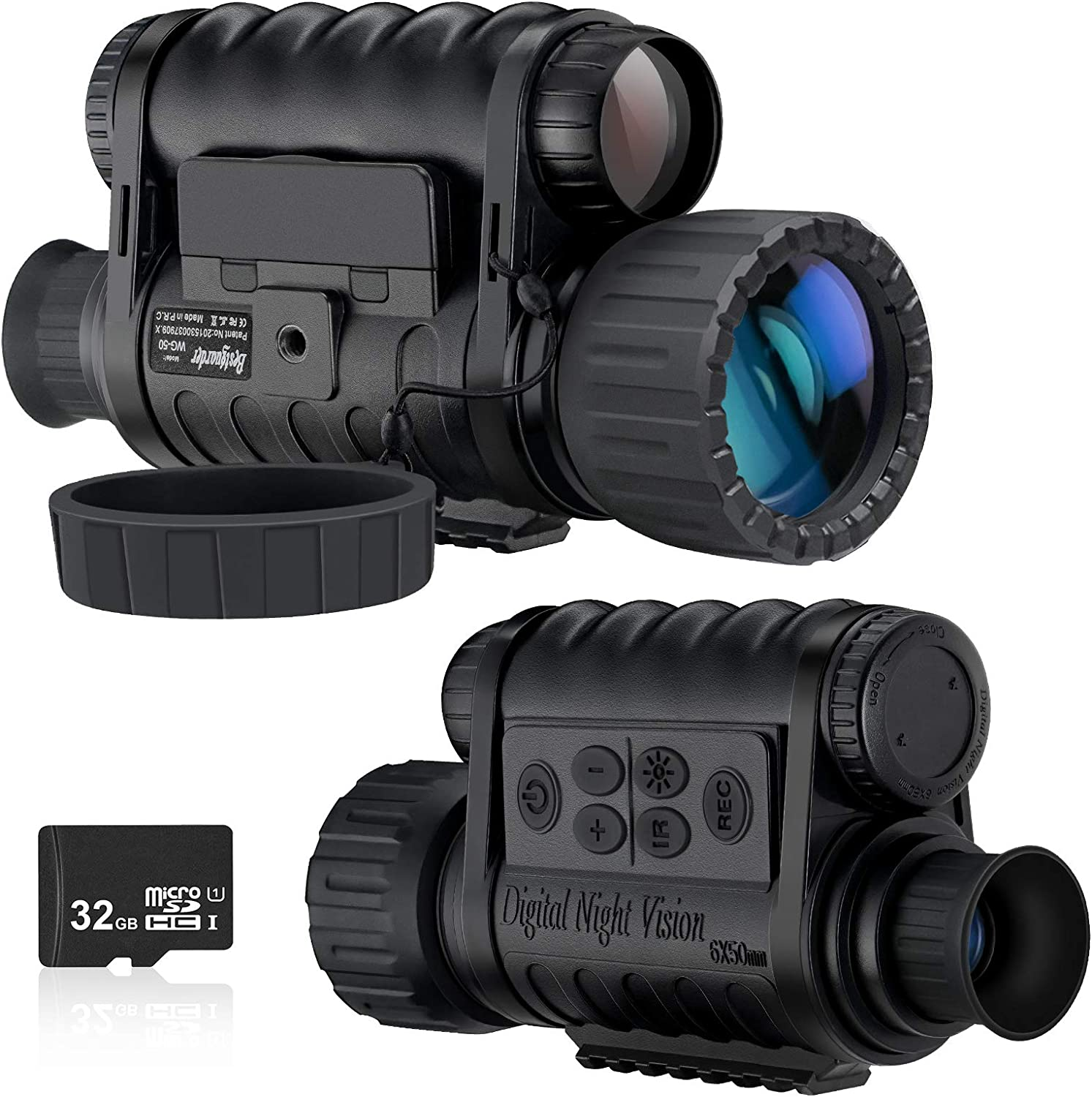 Infrared HD Night Vision Monocular Scope Video Record Hunting Optical Sight Cam