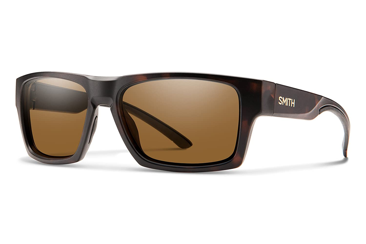 Smith Outlier 2 Matte Tortoise Sunglasses w/Polarized Brown