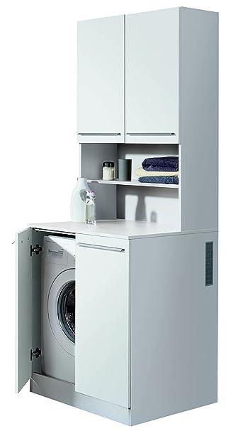Fackelmann Waschmaschinen Tower Badschrank Mit Lüftungsgitter Maße