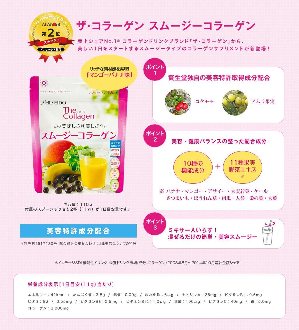 The Collagen Shiseido Bột Trái Cây 110g - CLG018