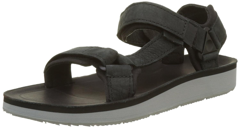 Teva Women's W Original Universal Premier-Leather Sandal B01IPRHLAG 6 B(M) US|Black
