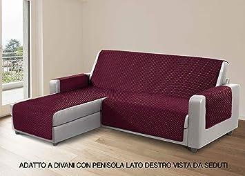 CapitanCasa Funda de sofá para sofás con Chaise Longue a la ...