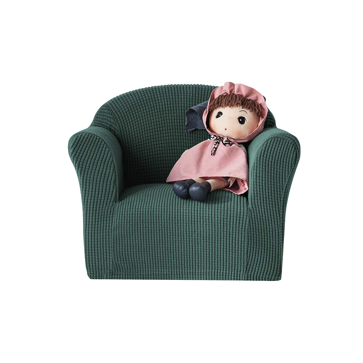 Awe Inspiring Chun Yi Jacquard High Stretch Kids Sofa Cover Childs Chair Cover Mini Size Sofa Slipcovers 1 Seat Soft Armchair Couch Cover Settee Coat For Beatyapartments Chair Design Images Beatyapartmentscom