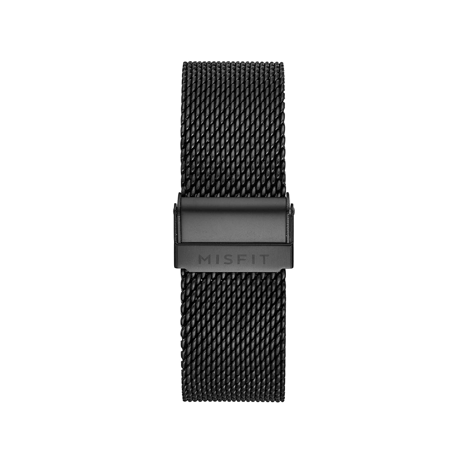 20MM Misfit Smartwatch Stainless Steel Mesh Band Color: Jet ...