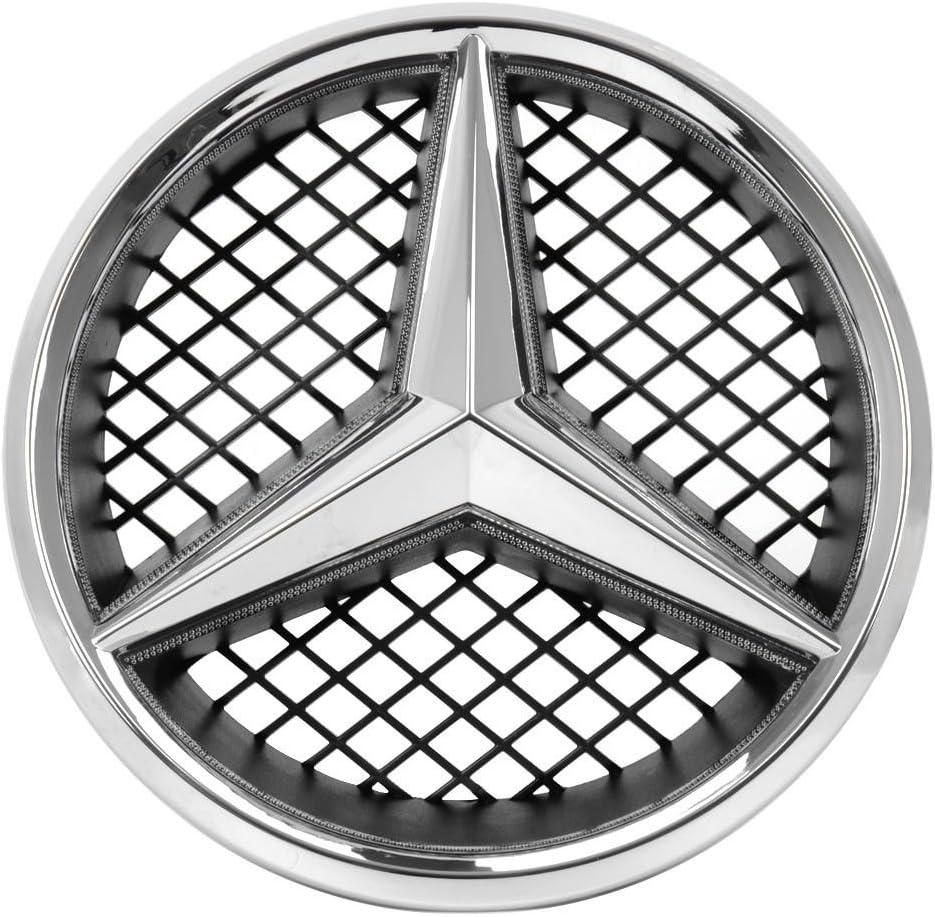Bearfire White LED Emblem for Mercedes Benz W204 C-Class White ...
