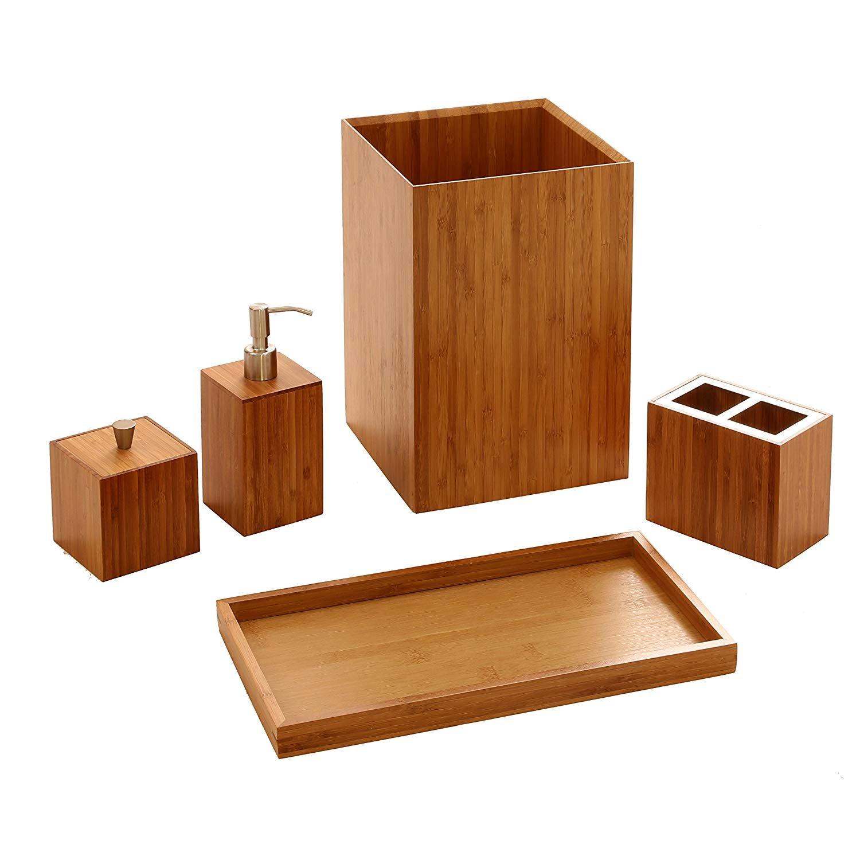 Caja De Almacenamiento de Bambú