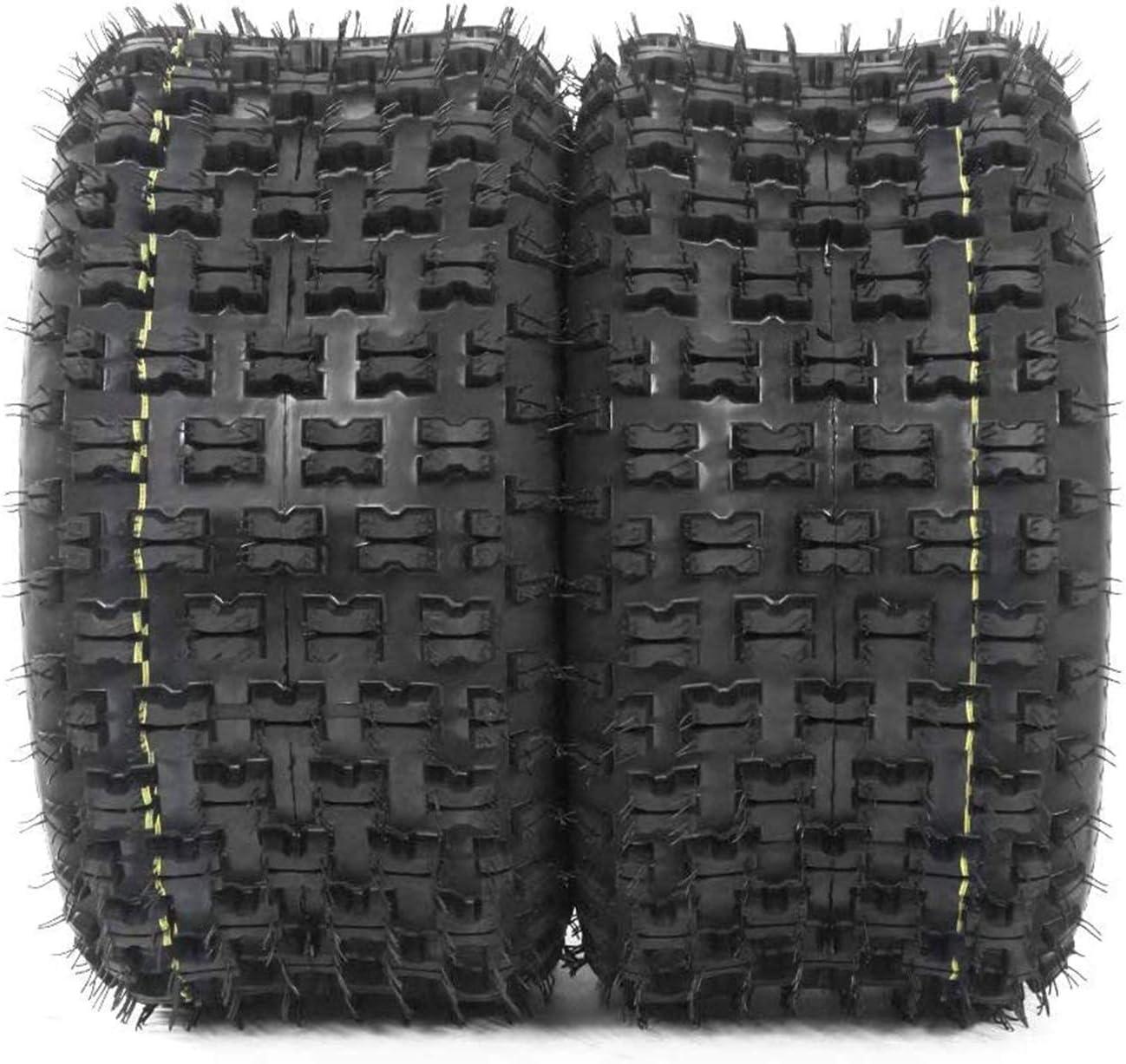 Juego de 2 neumáticos deportivos ATV 20X10-9 P336 4PR para Honda TRX 300EX 400EX 400X 450R