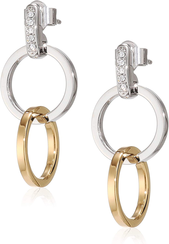 Tommy Hilfiger Jewelry Mujer acero inoxidable Pendientes de aro 2780083