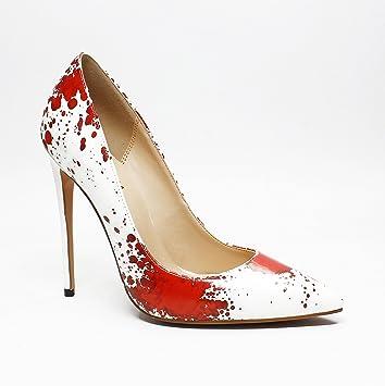 Ruanlei@Damen Spitz High Heels Kleid Partei PumpsHigh Heel