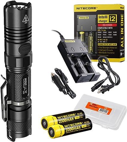 Amazon.com: Nitecore P12GT - Linterna LED táctica compacta ...