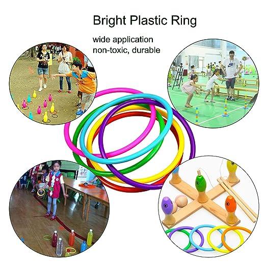 Amazon.com: Pinowu – Juego de 16 anillos de carnaval para ...