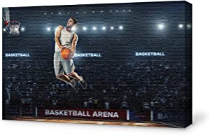 wall26 Canvas Wall Art Sports Pictures Home Wall Decorations for Bedroom Living Room Paintings Canvas Prints Framed - 24x36 inches
