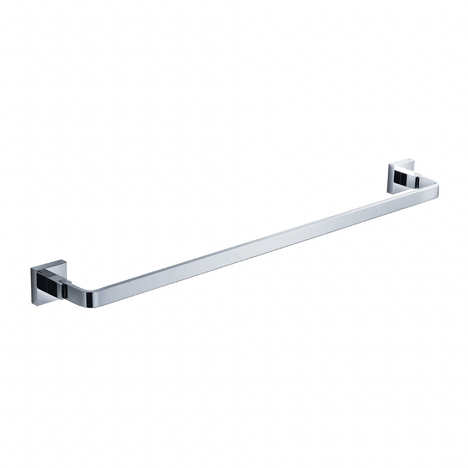 Kraus KEA 14437CH Aura Bathroom Accessories   Towel Bar 600mm     Amazon.com