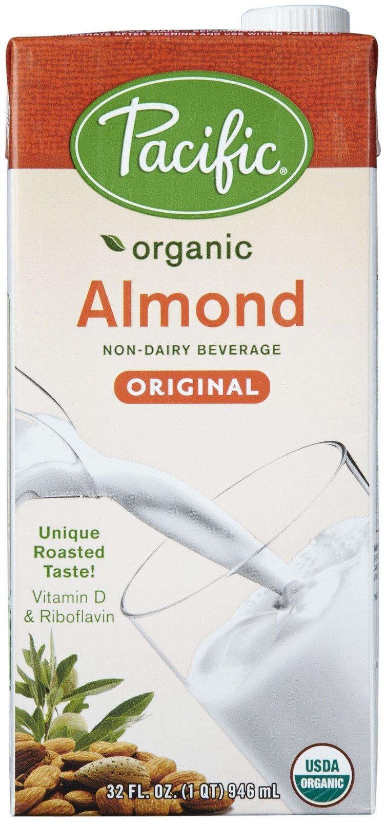 Pacific Natural Foods Organic Natural Almond Beverage - Original - 32 oz