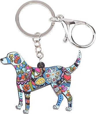custom acrylic dog keychain Beagle