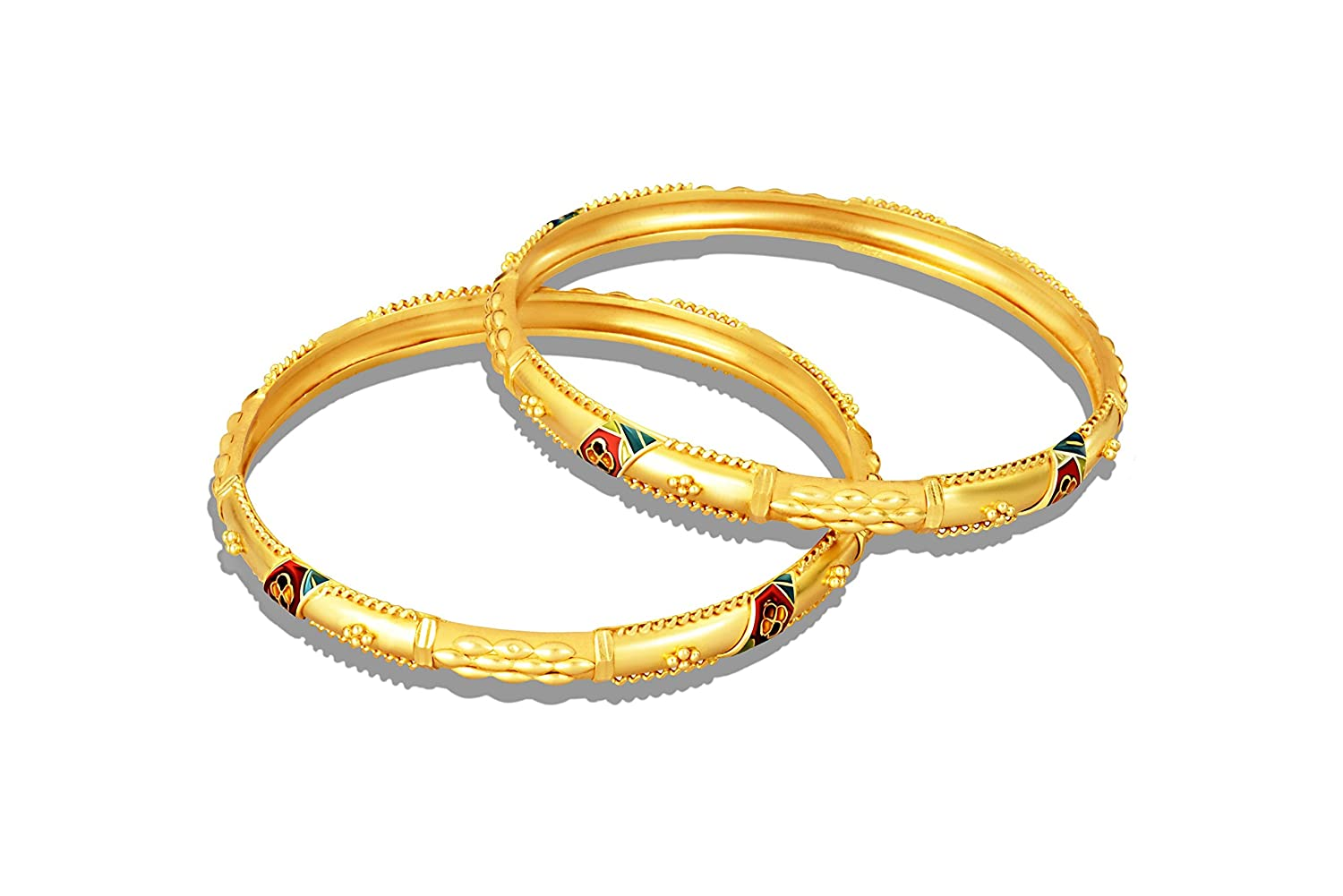 Buy P. C. Chandra Jewellers Mid Gold Collection 22k (916) Yellow ...