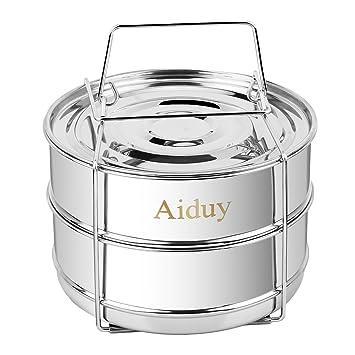 Aiduy - Vapor apilable para ollas de 6,8 litros de olla ...