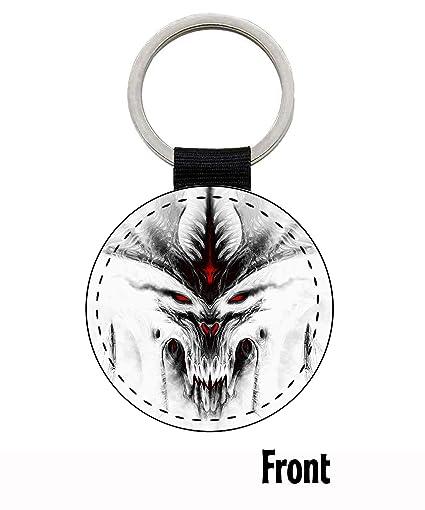MasTazas Diablo III 3 B Llavero Keyring: Amazon.es: Coche y moto