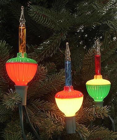Northlight Set of 7 Multi-Color Retro Christmas Bubble Lights - Green Wire - Amazon.com: Northlight Set Of 7 Multi-Color Retro Christmas Bubble