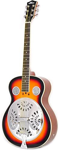 Pyle Resophonic Acoustic-Electric Guitar