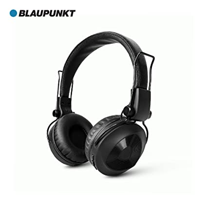 d52d6a788c3 Blaupunkt BH01 Bluetooth On-The-Ear Wireless Headphone: Amazon.in:  Electronics