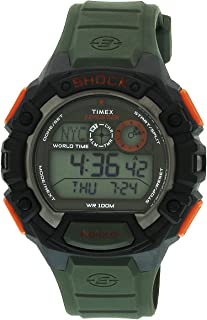 amazon com timex men s t49977 expedition base shock black red resin rh amazon com timex expedition user manual pdf timex expedition owners manual