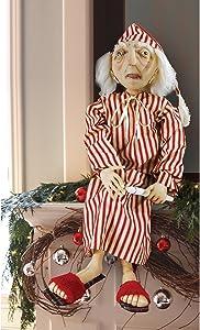 "GALLERIE II ""Ebenezer Scrooge"" Figure Christmas Sculpture Doll"