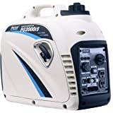 Pulsar 2,000W Portable Gas-Powered Quiet Inverter Generator with USB Outlet & Parallel Capability, CARB Compliant, PG2000iS