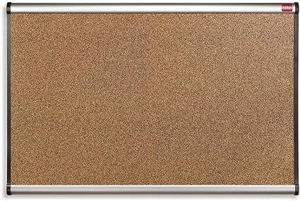 Nobo QBPC9060 Prestige - Pizarra de corcho, 90 x 60 cm: Amazon.es: Oficina y papelería